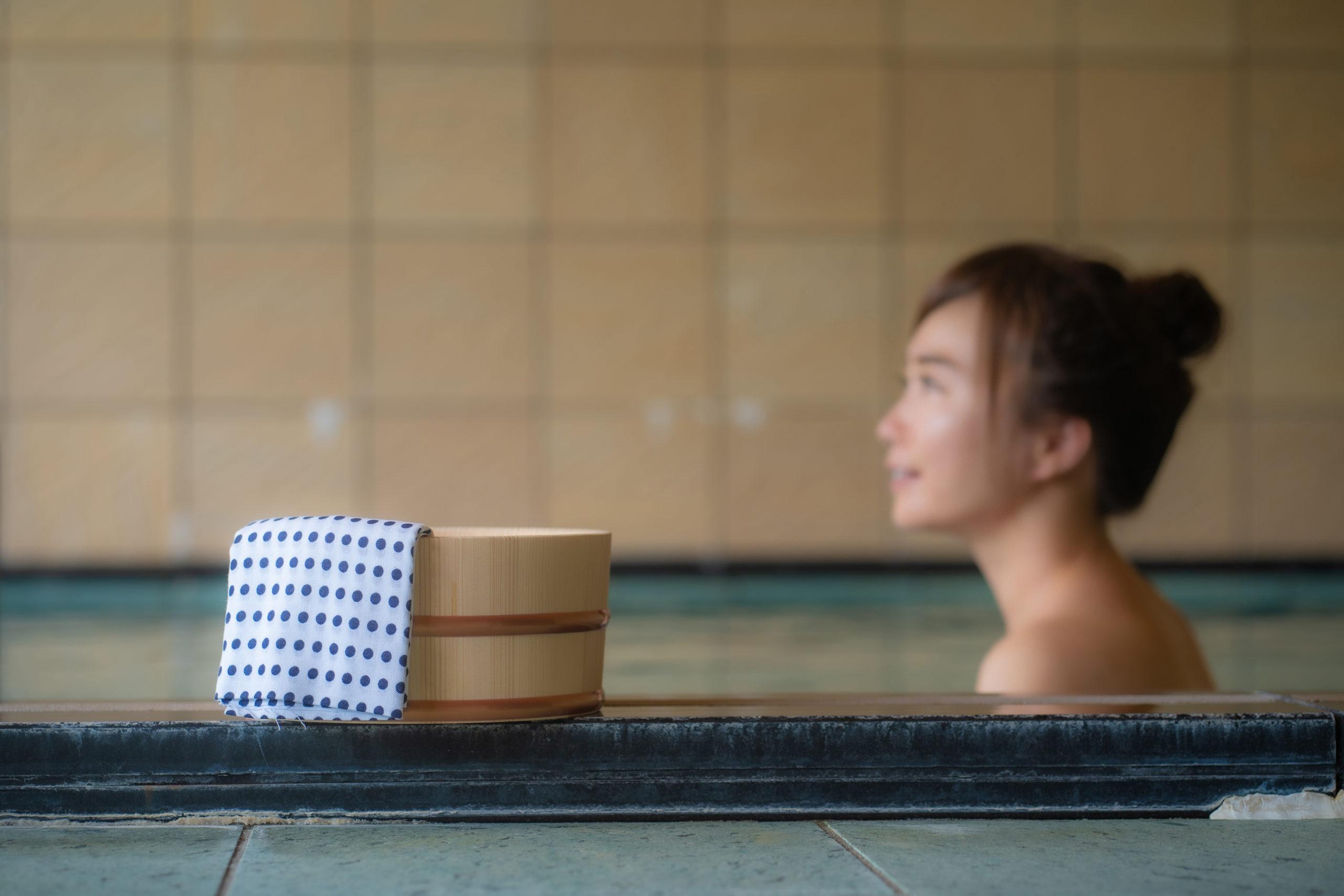 女性の風呂